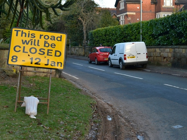 More misery for motorists as busy commuter route plagued with construction traffic is closed