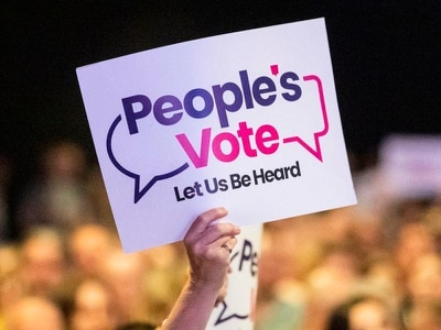 People's Vote campaign to 'rebrand' after conceding second referendum unlikely