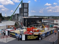 New Wolverhampton train station continues to take shape