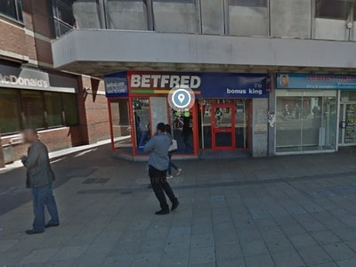 Arcade objection from neighbouring betting shop