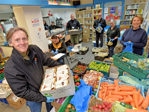 Stafford food charity switches to home deliveries