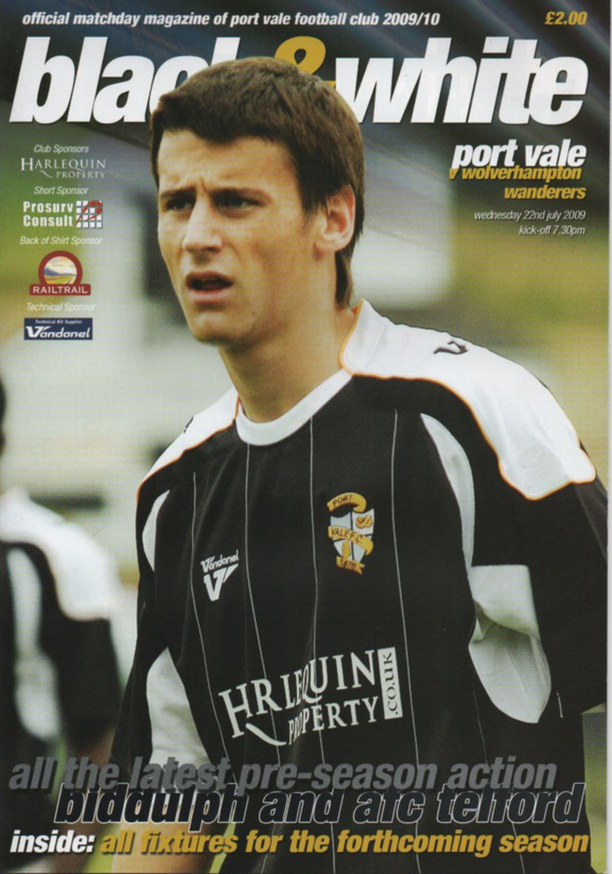 Port Vale programme