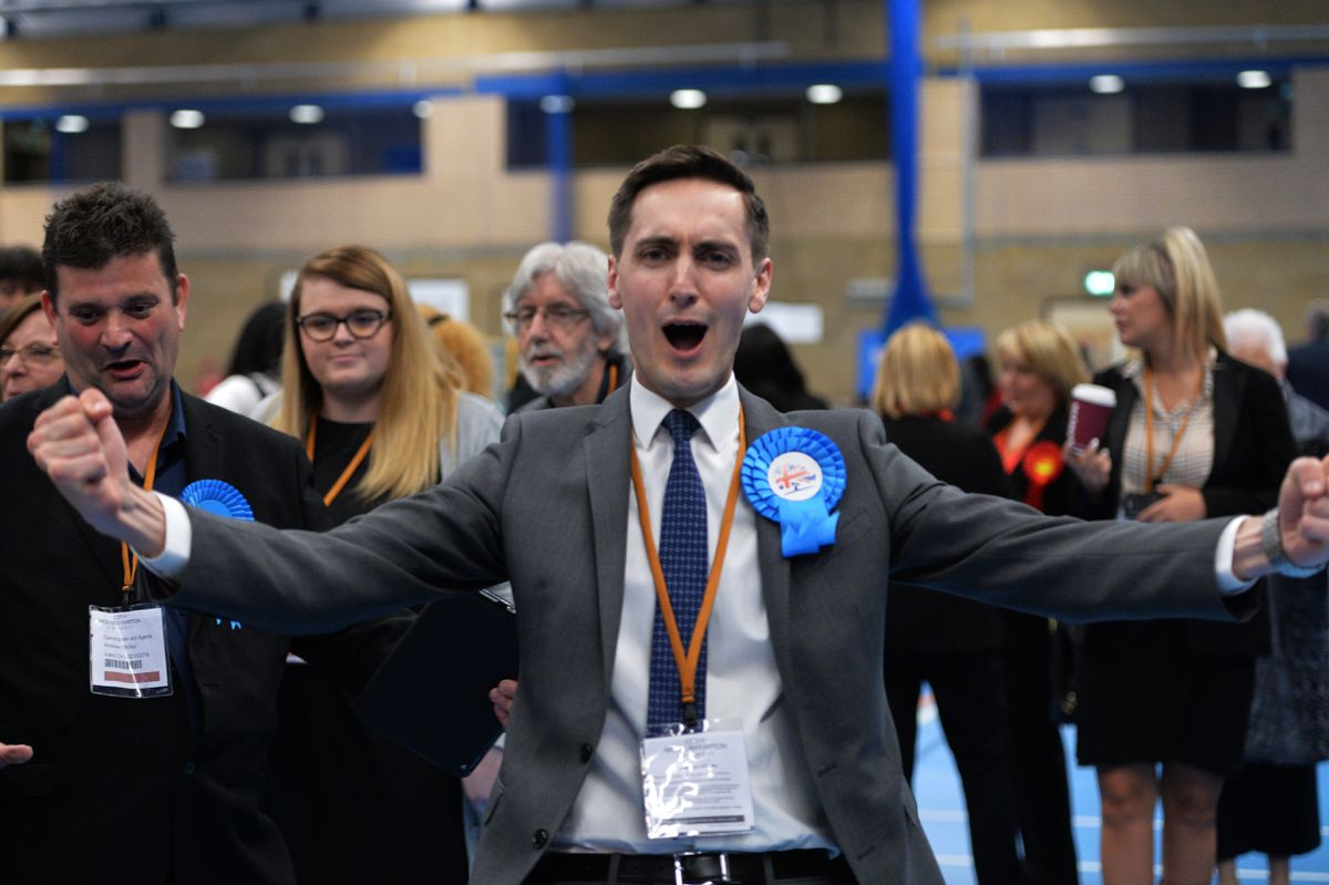 Paul Appleby took Bushbury North by just eight votes