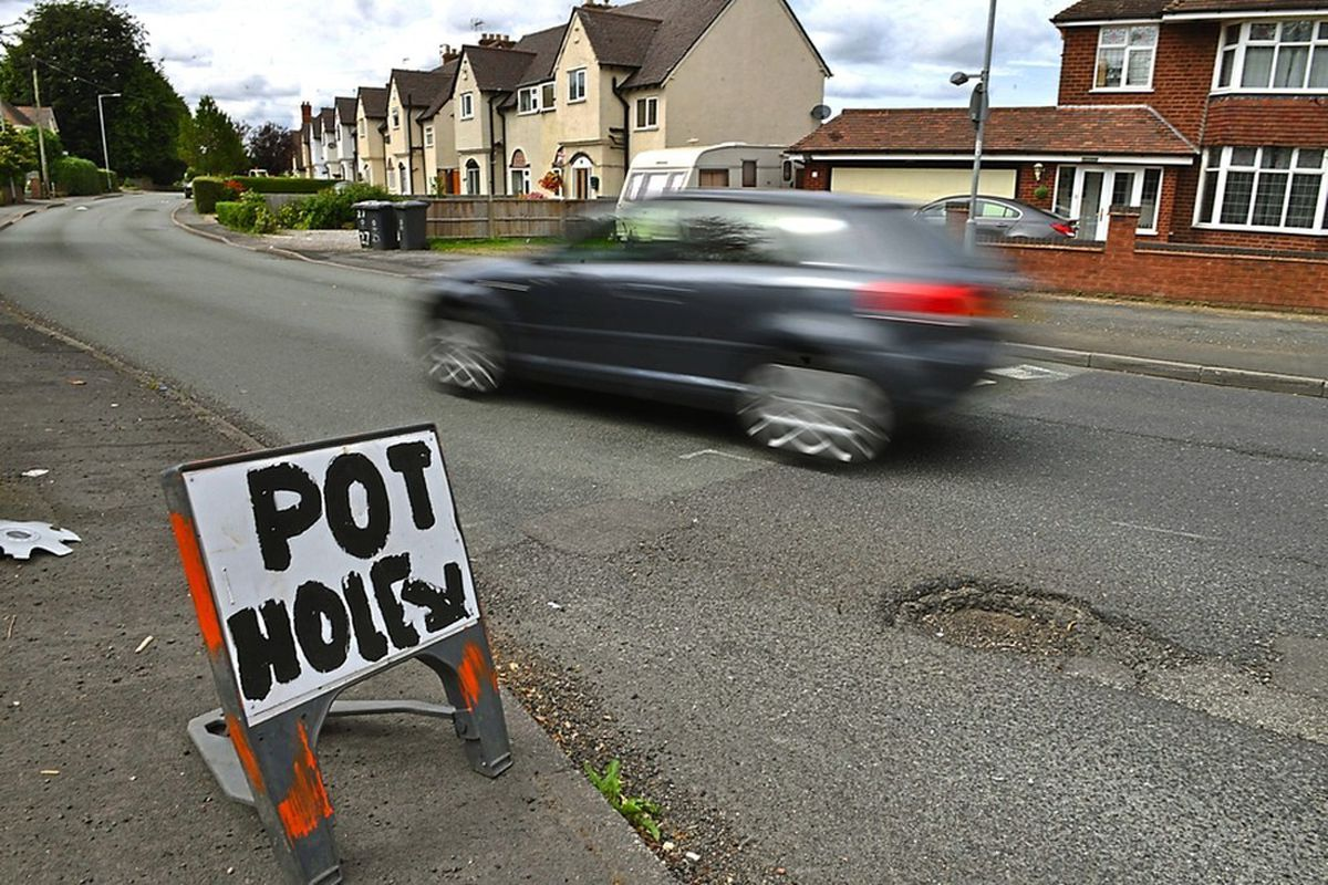 Potholes have plagued Staffordshire's roads for years