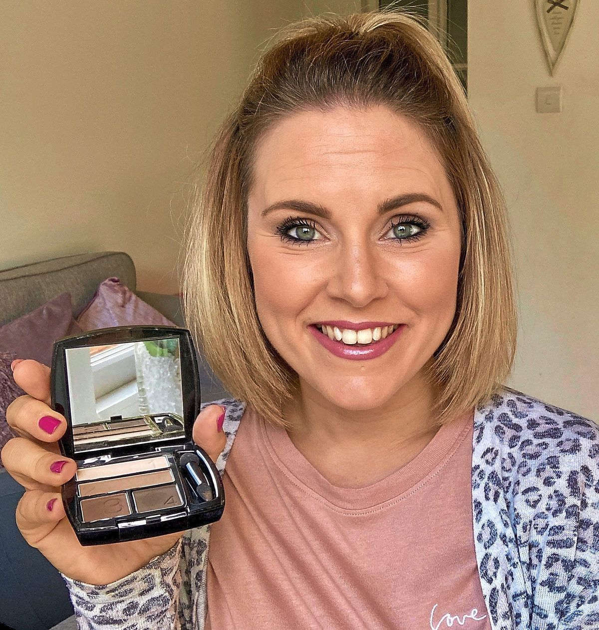 Natalie Nicholls who indulged in her passion for beauty by becoming an Avon Representative