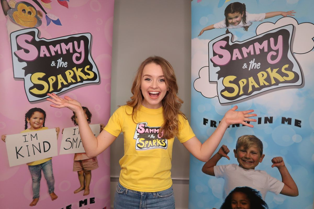 Samantha Dorrance, originally from Willenhall, is trying to boost children's mental health through her new venture, Sammy & The Sparks