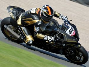 Barberá was in great form posting the third quickest time in practice. Picture: ianbikesportpics@aol.com