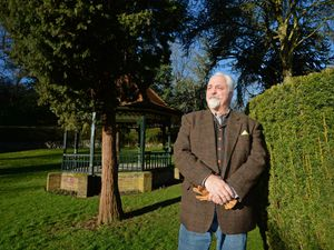 Ian McDermott, chairman of the friends of Brunswick Park, which has received Arboretum status