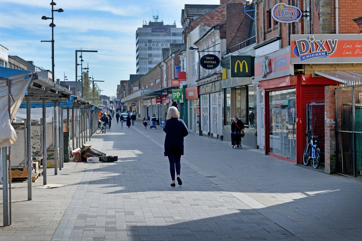 Shoppers are staying away from West Bromwich town centre
