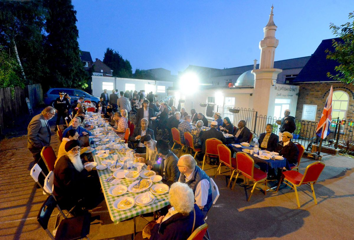 Iftar event in Wolverhampton