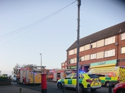 Man, 72, rescued from fire at Oldbury flat