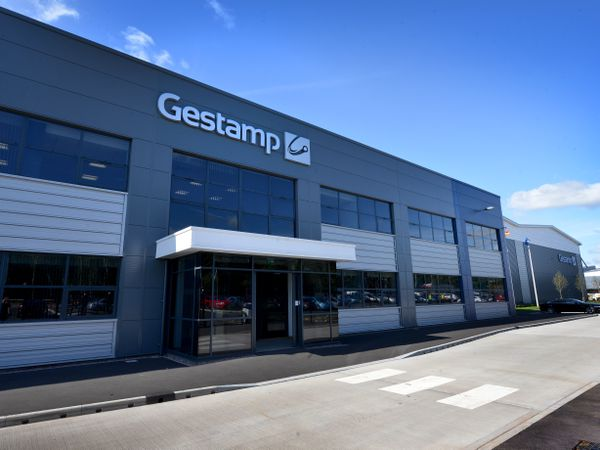 Gestamp's car parts factory at Four Ashes, near Wolverhampton