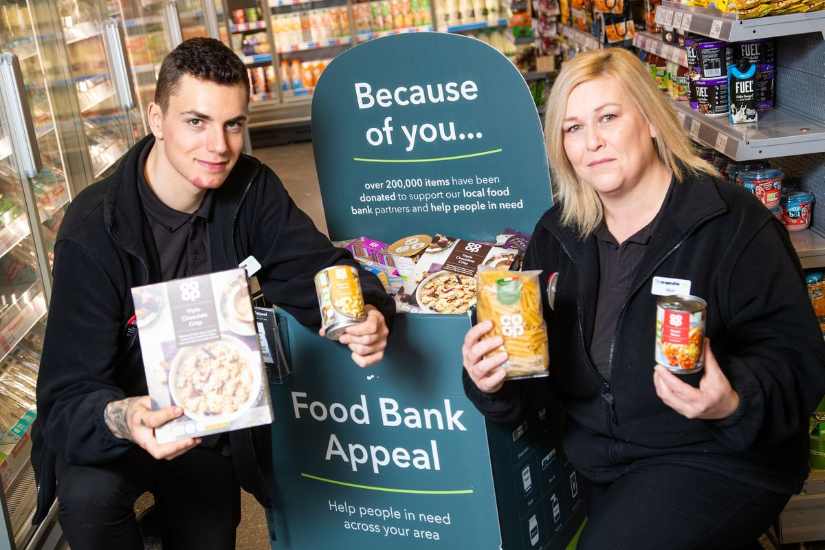 The Co-op has launched a food bank appeal