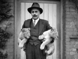 1931 Chester Zoo founder, George Mottershead