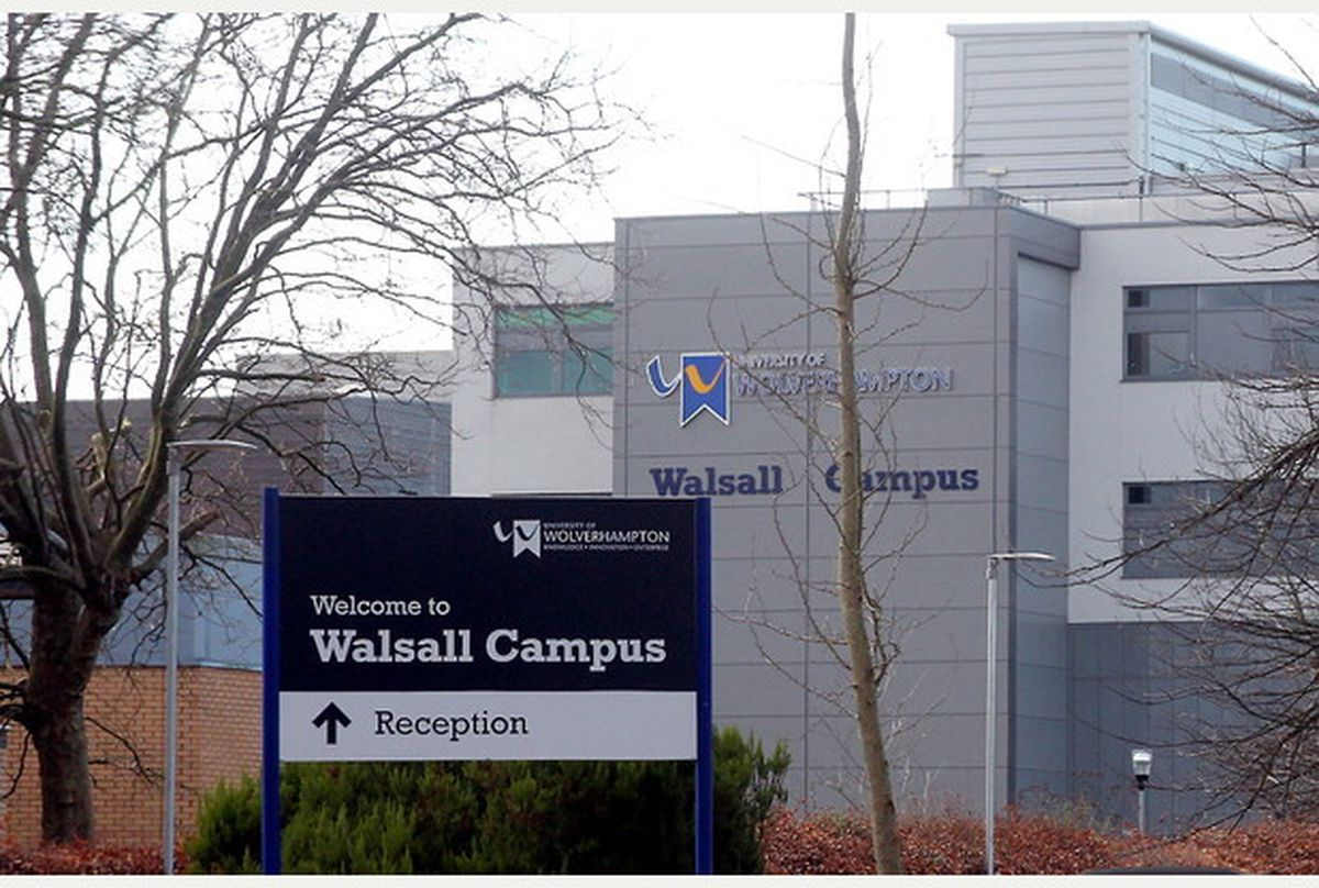 The University of Wolverhampton's Walsall Campus