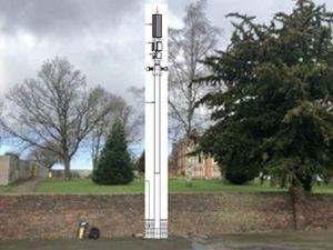 An illustration of the phone mast. Credit: Councillor Tim Crumpton