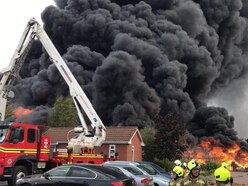 Firefighters investigate cause of huge blaze in Birmingham