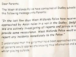 Alert to parents after pupils approached by men in Dudley
