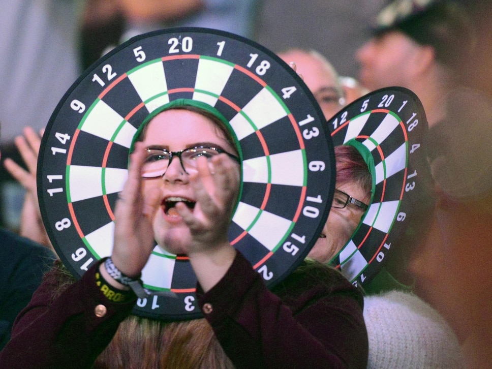 GALLERY: Venue change a success at Grand Slam of Darts