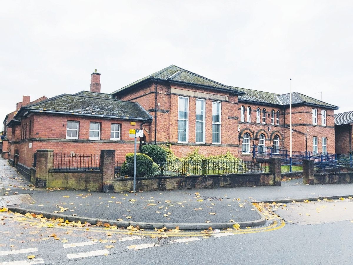 The former Old Hill police station