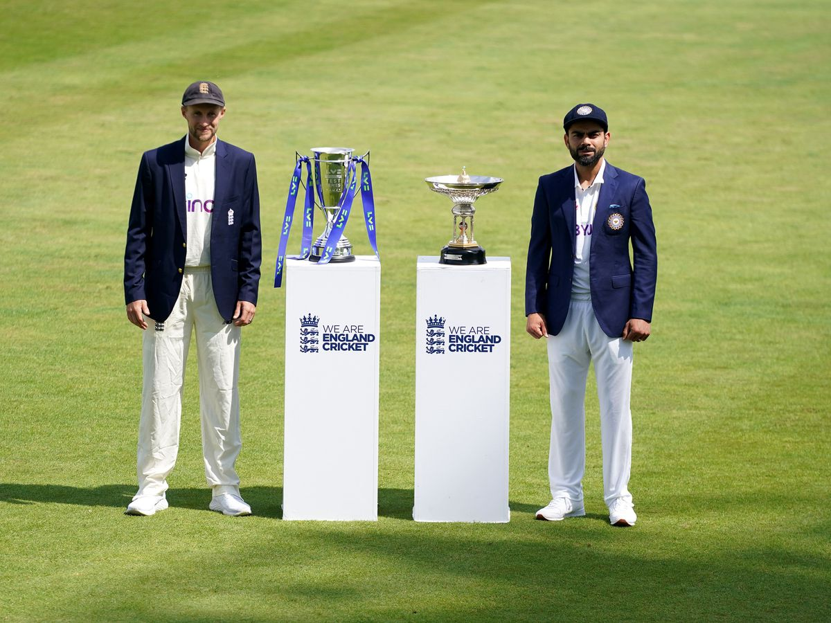 India captain Virat Kohli (right) and England counterpart Joe Root could face each other again next year if the fifth Test is rescheduled