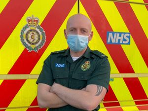 Councillor Adam Aston is a paramdeic with West Midlands Ambulance Service