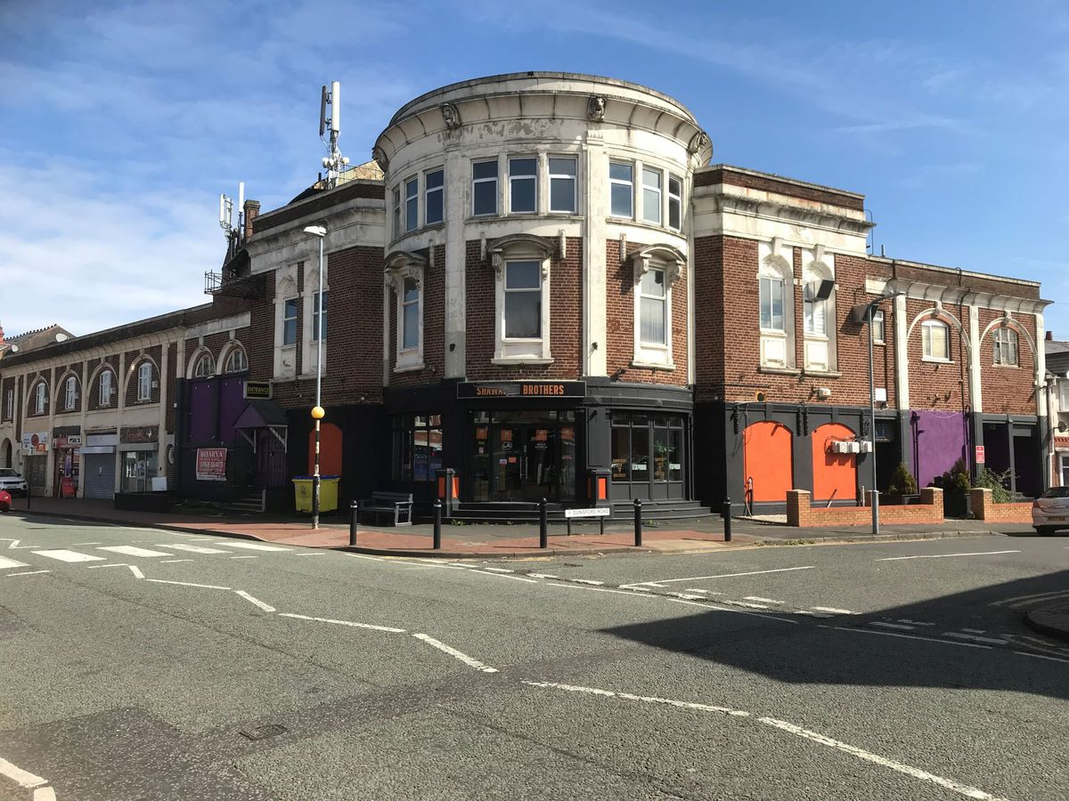 The former Windsor Theatre in Bearwood Road