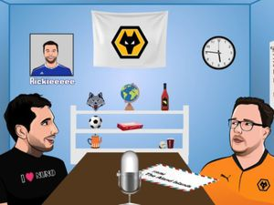 Wolves poddy with Tim Spiers, Nathan Judah and Luke Hatfield