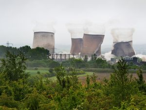 The cooling towers at Rugeley Power Station were demolished in June
