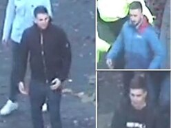 Police hunt three men after Molineux trouble at Wolves v Villa