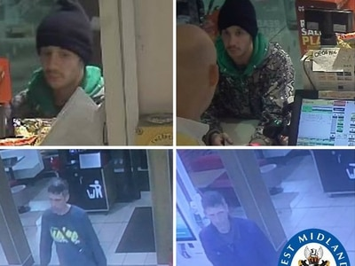 Police tracing two men after bank cards stolen in Halesowen burglary