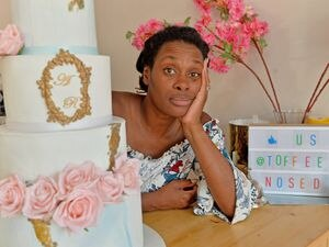 The hot weather is causing Dennice McKinnon and The Toffee Nosed Cake Company a major headache