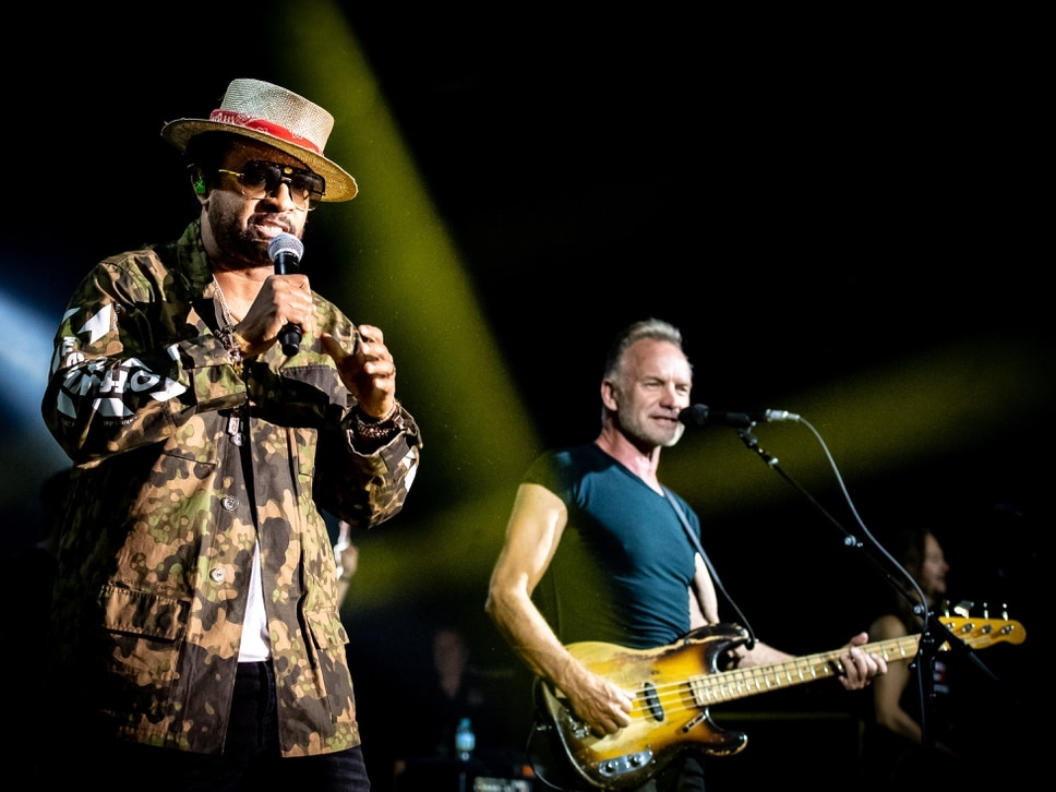 Sting and Shaggy, O2 Academy, Birmingham - review and pictures