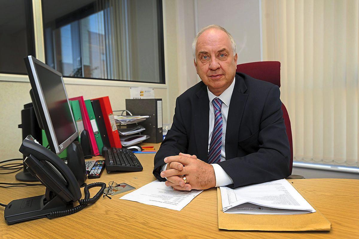 Police and crime commissioner David Jamieson