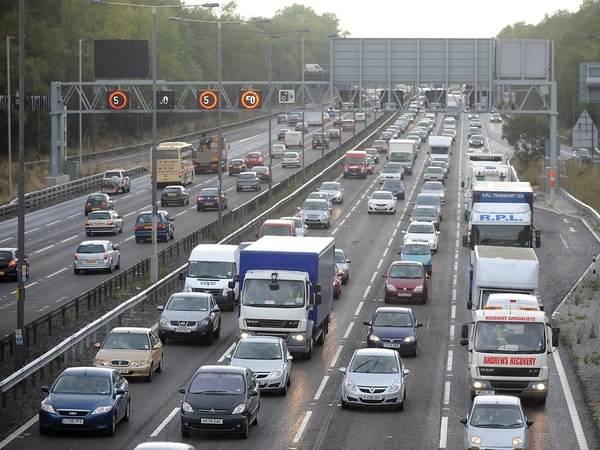 Congestion warning on M6 and M54 after collision