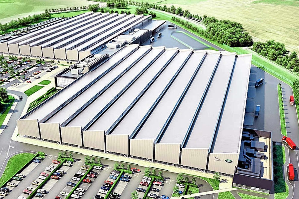 New Jaguar Land Rover plant will now cover one million sq ft | Express & Star
