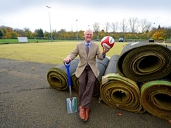 Work begins on new artificial pitch at Dell Stadium