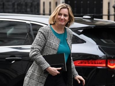 Amber Rudd joins in Twitter exchange after her daughter reported being 'ghosted'