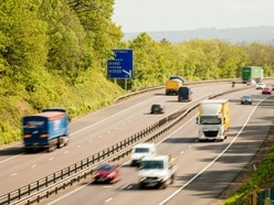 JAILED: Man caught by police undertaking on M54 hard shoulder