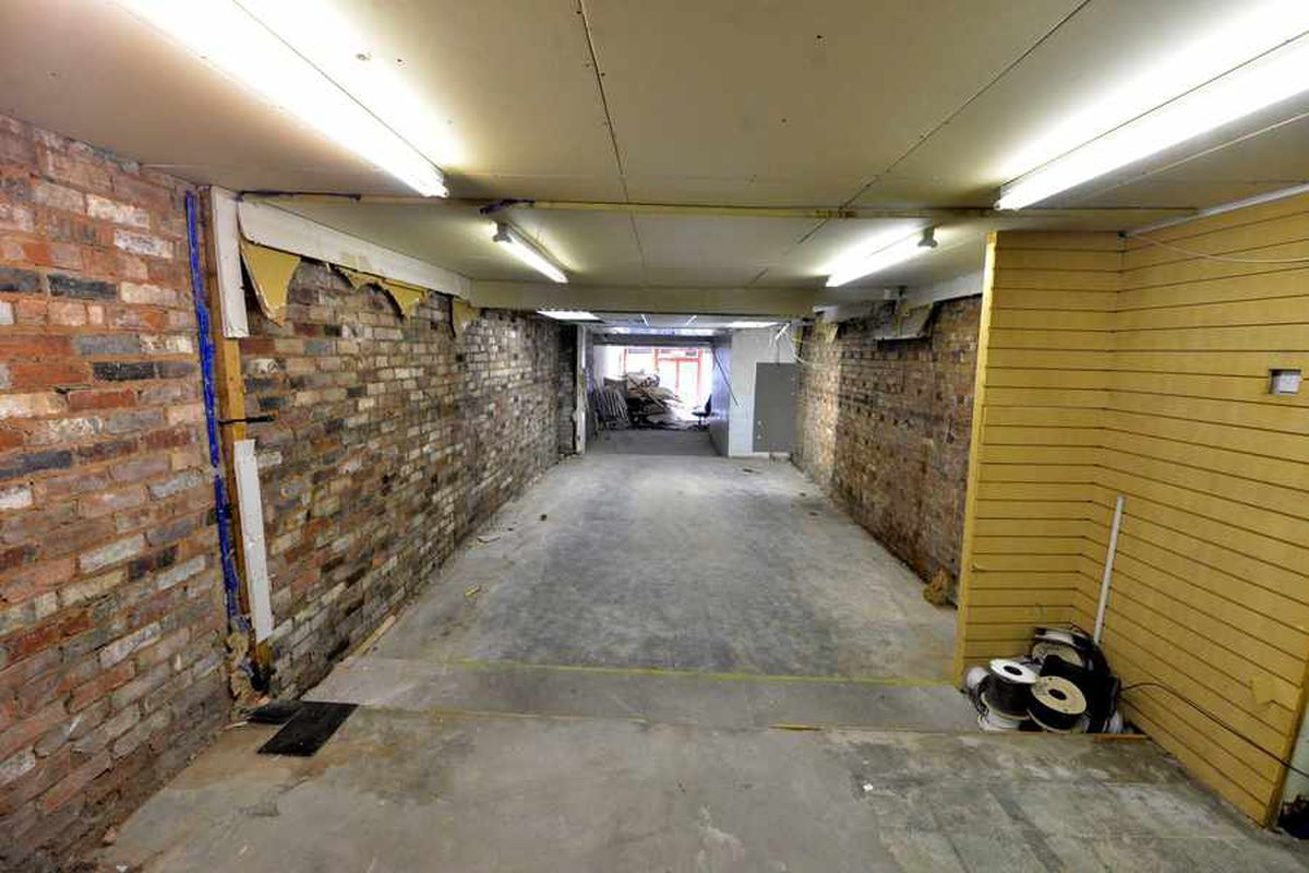 The interior of what will be the second pub in the chain