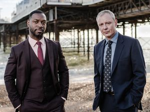 Undated ITV Handout Photo from Grace. Pictured: (L-R) Richie Campbell as DS Branson, John Simm as DS Roy Grace. See PA Feature SHOWBIZ TV Grace. Picture credit should read: ©ITV. WARNING: This picture must only be used to accompany PAÊFeature SHOWBIZ TV Grace. WARNING: This photograph is (C) ITV Plc and can only be reproduced for editorial purposes directly in connection with the programme or event mentioned above, or ITV plc. Once made available by ITV plc Picture Desk, this photograph can be reproduced once only up until the transmission [TX] date and no reproduction fee will be charged. Any subsequent usage may incur a fee. This photograph must not be manipulated [excluding basic cropping] in a manner which alters the visual appearance of the person photographed deemed detrimental or inappropriate by ITV plc Picture Desk. This photograph must not be syndicated to any other company, publication or website, or permanently archived, without the express written permission of ITV Picture Desk. Full Terms and conditions are available on www.itv.com/presscentre/itvpictures/terms