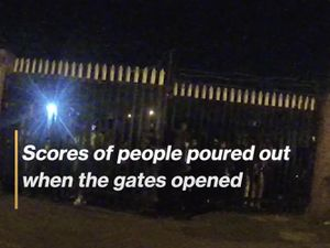 Still from West Midlands Police video