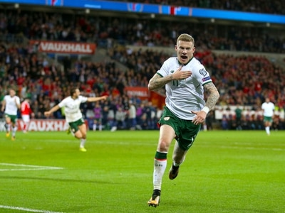 West Brom's James McClean claims Ireland award