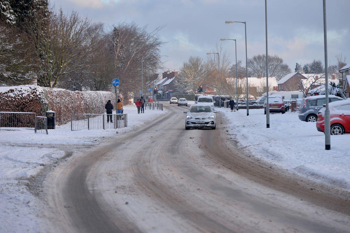 Hednesford Road, Cannock