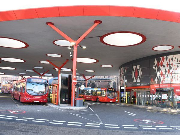 Walsall bus station