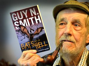 Horror author Guy N Smith from Black Hill near Clun has just re-released a novel he published in 1978 about an epidemic caused when a bat escapes from a laboratory over Cannock Chase