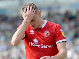 A dejected Caolan Lavery