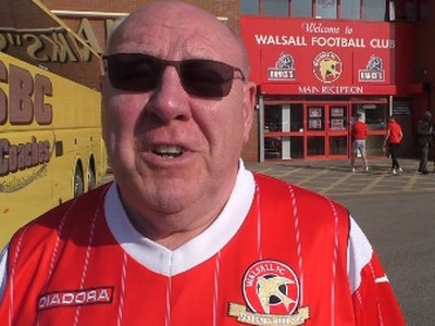 'Jeff Bonser needs to go!' Frustrated Walsall fans find little solace in injury time leveller - WATCH