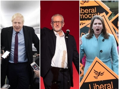Let battle commence! General Election campaign in pictures