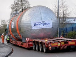 60-ton giant load spotted on Black Country roads heading for oil refinery